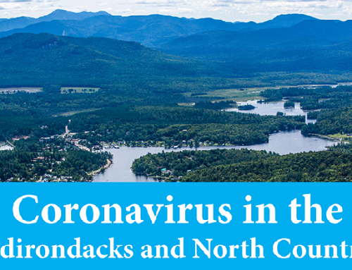 May 25th daily COVID19 report in the New York: 2,516 confirmed cases in Adirondack Park counties, 28,747 in Upstate NY, and 362,764 in NYS
