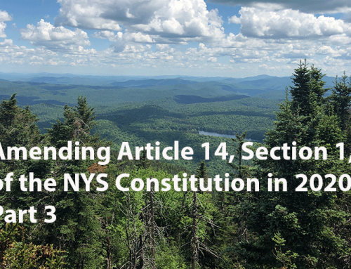Debate over amendments to Article 14 in the NYS Constitution in 2020, Part 3: amendment is needed to remove the former state prison at Camp Gabriels from the Forest Preserve