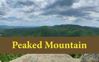 hike peaked mountain