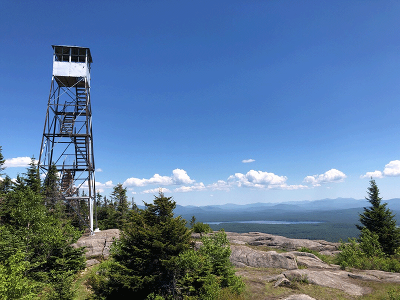 Hike up St. Regis Mountain in the Adirondack Park
