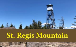 hike up St. Regis Mountain