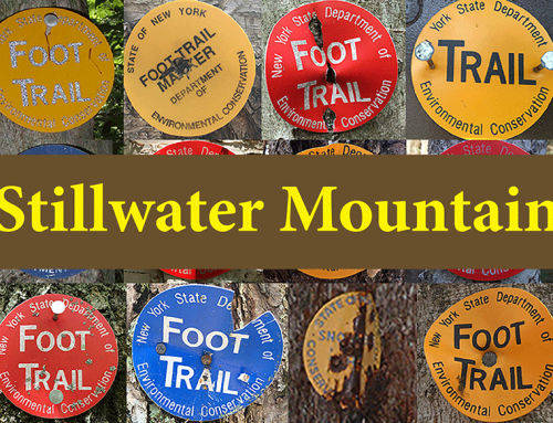 Stillwater Mountain is a short and easy hike to a small mountain with a firetower in the western Adirondacks