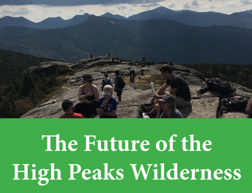Thoughts on the High Peaks Strategic Planning Advisory Committee final report