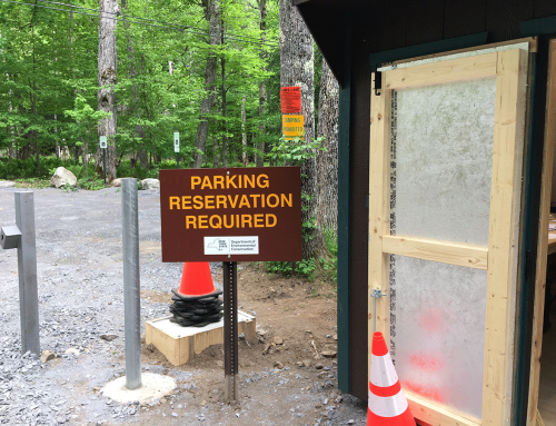 A review of the new Adirondack Mountain Reserve parking reservation system